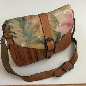 Patricia Nash Praga Italian Leather Crossbody